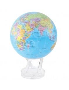 Glob pamantesc rotativ solar Mova Politic Blue XXL