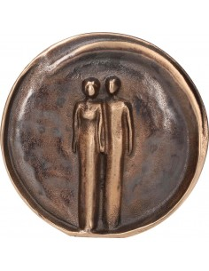 "Relief bronz ""Pereche"""
