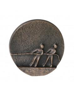 """Relief bronz """"Tragem in aceeasi directie"""""""