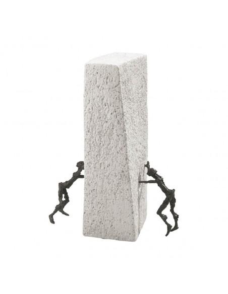 "Statueta bronz ""Descoperire"""