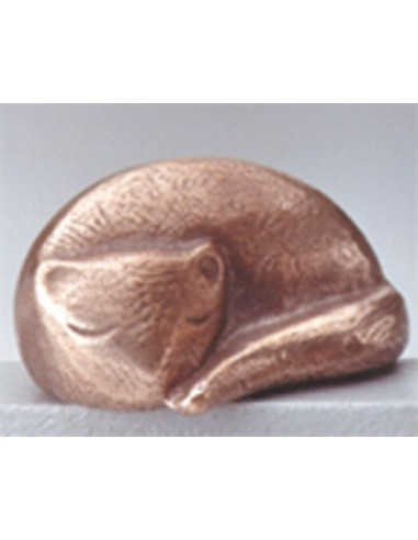 """Statueta bronz """"Pisica somnoroasa"""""""