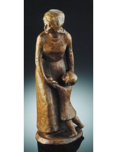 """Statueta bronz """"Dragoste de mama"""" editie limitata"""
