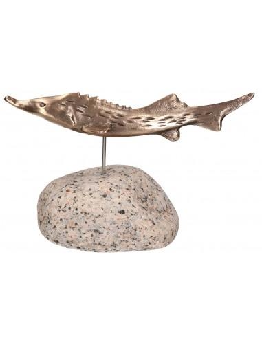 """Statueta bronz """"Trofeu sturion"""""""