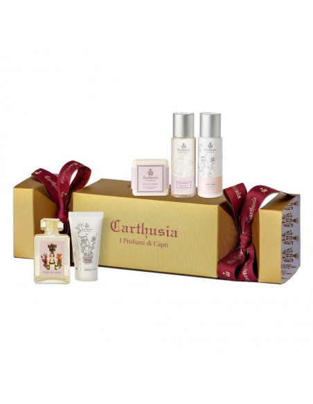 Set cadou Carthusia Candy Box Fiori di Capri
