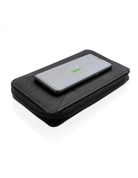 Portofel calatorie cu incarcator wireless 5W