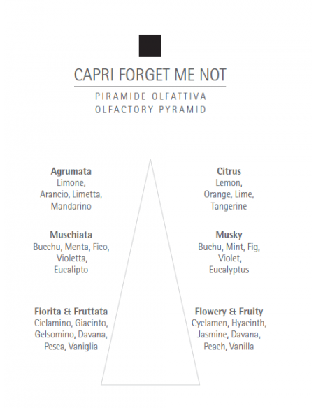 Apa de parfum Carthusia Capri Forget Me Not 100ml