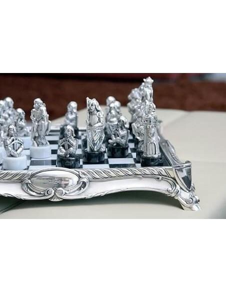 Jocuri de sah argint